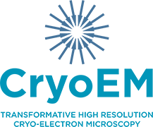 NIH Common Fund Transformative High Resolution Cryo-Electron Microscopy Program Centers Logo